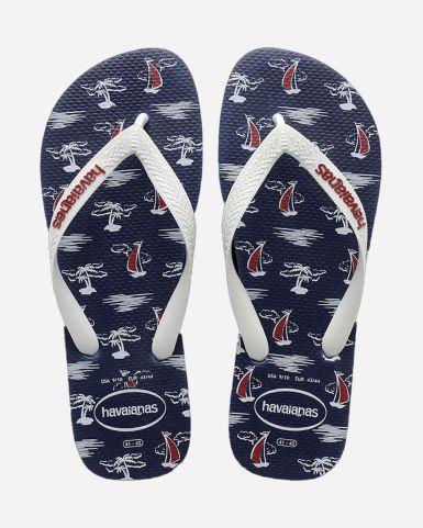 Top Nautical Flip Flops