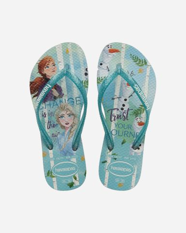 Kids Slim Frozen Flip Flops