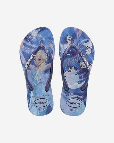 Kids Slim Frozen Flip Flops