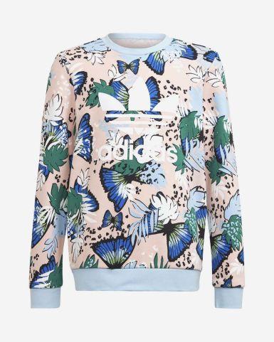 HER Studio London 動物花卉圖案圓領衛衣