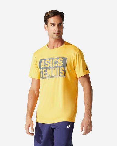 網球印花T恤