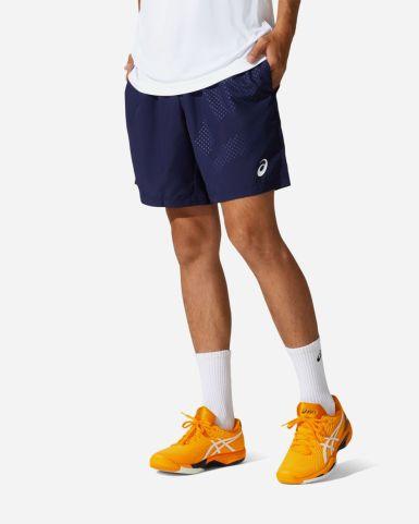 網球印花短褲