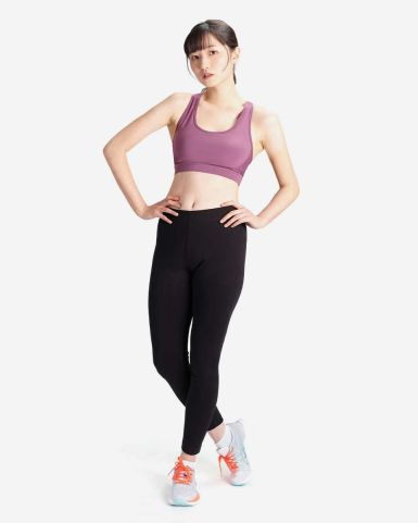 棉質休閒/ 訓練緊身長褲