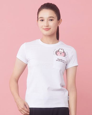 白色口袋T恤
