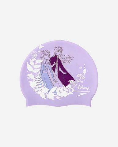 小童迪士尼冰雪奇緣Elsa及Anna印花泳帽(年齡6-14)