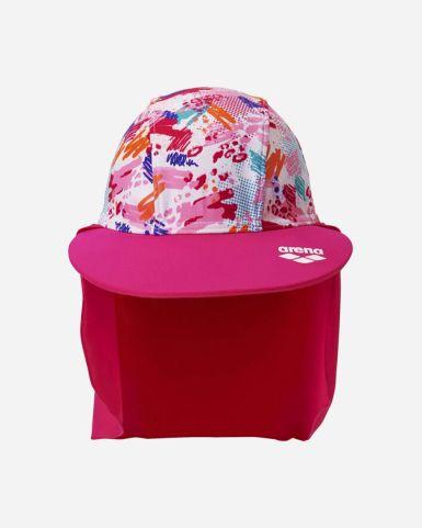 彩繪印花沙灘防曬帽