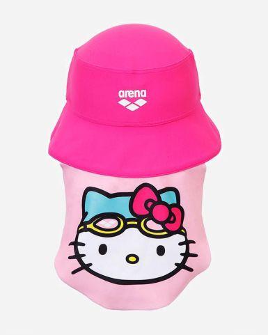 Arena x Hello Kitty 印花防曬帽