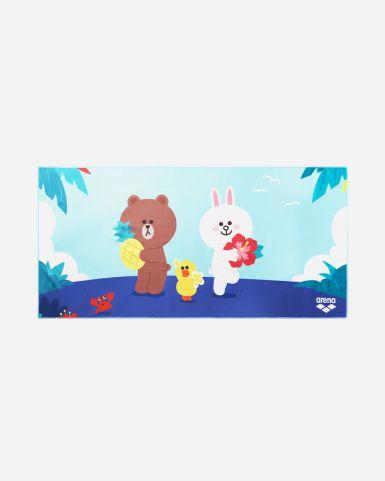 Line Friends Tropical Paradise 毛巾