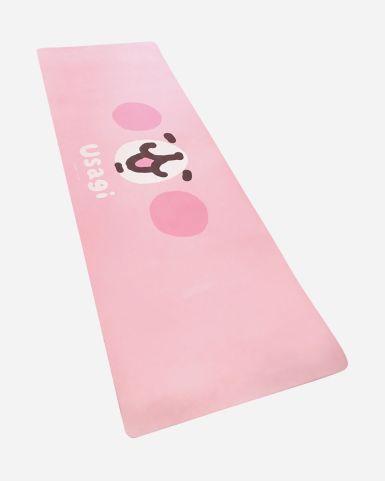 粉紅兔兔瑜珈墊