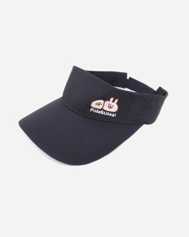 黑色防曬帽