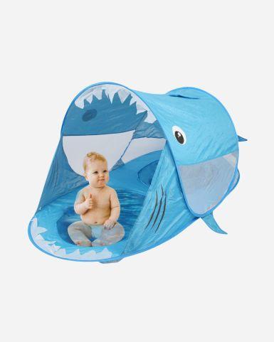 鯊魚造型Pop Up帳篷(連戲水池)