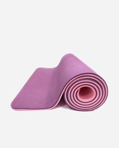 雙面瑜伽墊(8毫米厚)