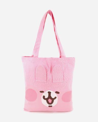 粉紅兔兔造型tote bag