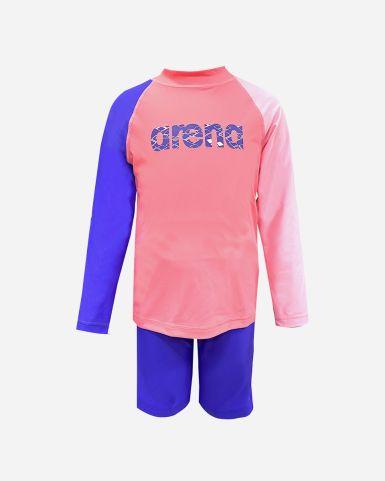 小童泳裝長袖防囇套裝