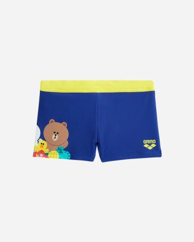 Line Friends 小童 Tropica lParadise 平腳泳褲