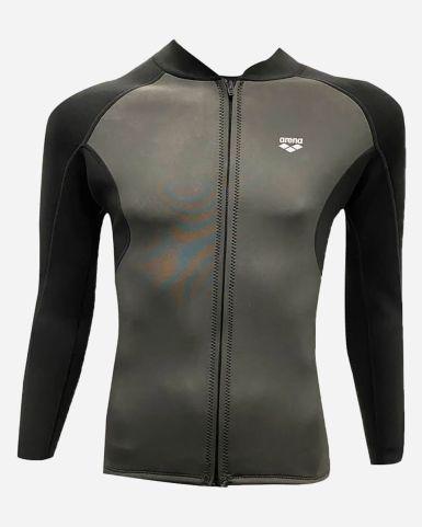 長袖拉鏈保暖泳衣